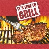 Servet It's time to grill 33x33 cm